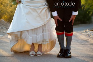 wedding shoes socks; Tucson wedding photography