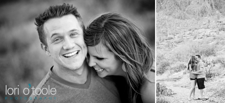 Tucson desert; Tucson engagement photography