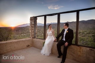 wedding at Tanque Verde Ranch; Tucson ranch wedding; Emily and Josh; Lori OToole Photography