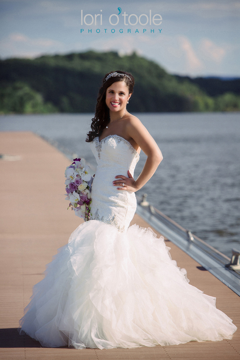 Poughkeepsie Grandview wedding; Hudson River wedding photos; Lori OToole Photography
