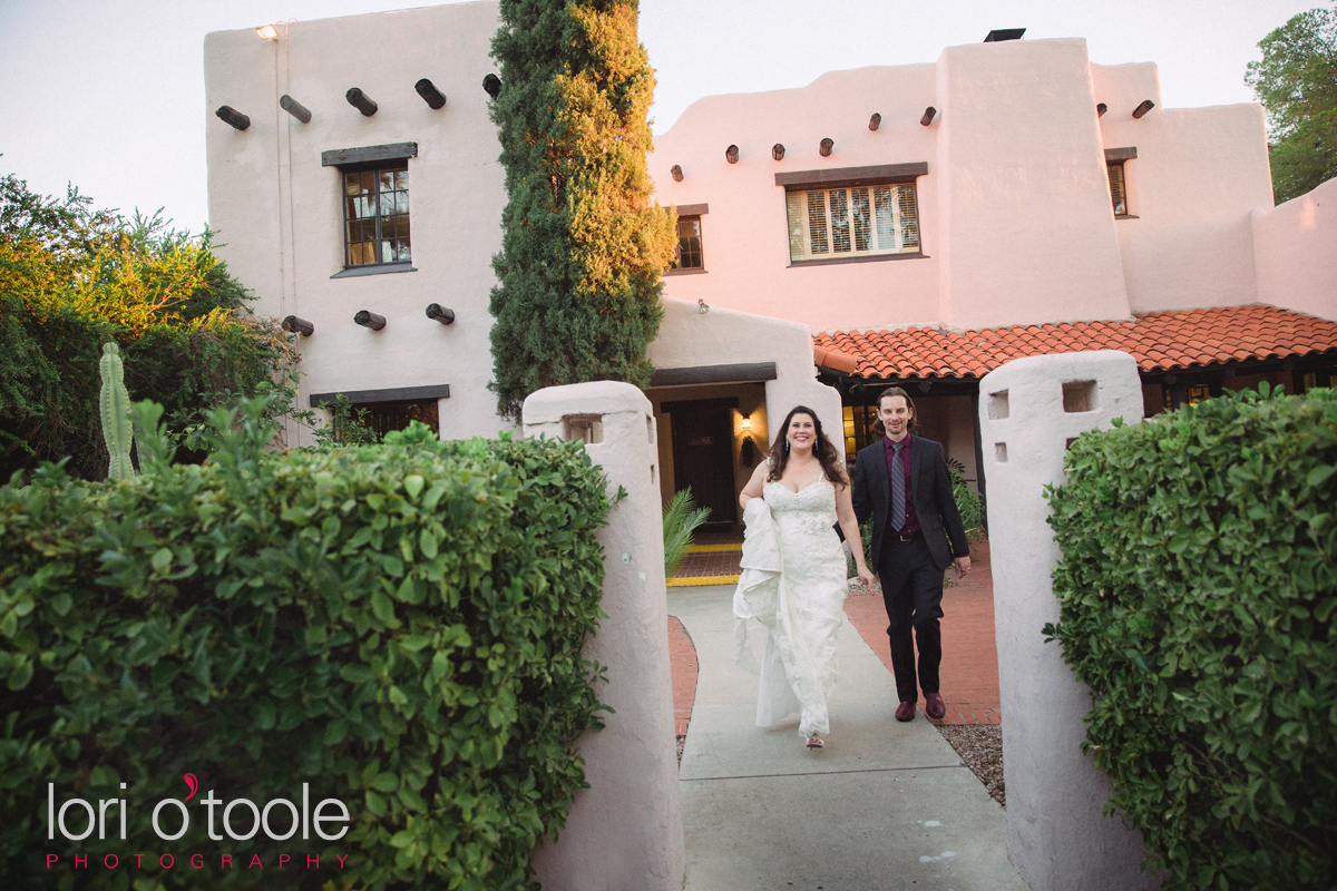 Westward Look Wedding, Lori OToole Photography, garden desert wedding