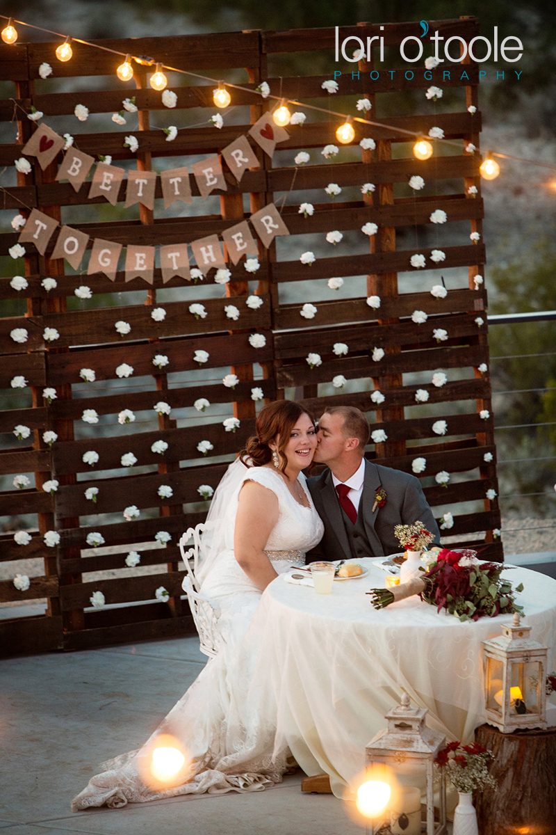 DIY Backyard Wedding in the Arizona Desert; Lori OToole