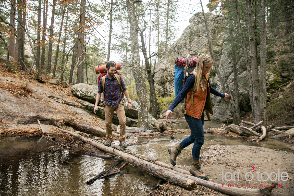 Mt Lemmon engagement photos, Lori OToole Photography, fall in Arizona