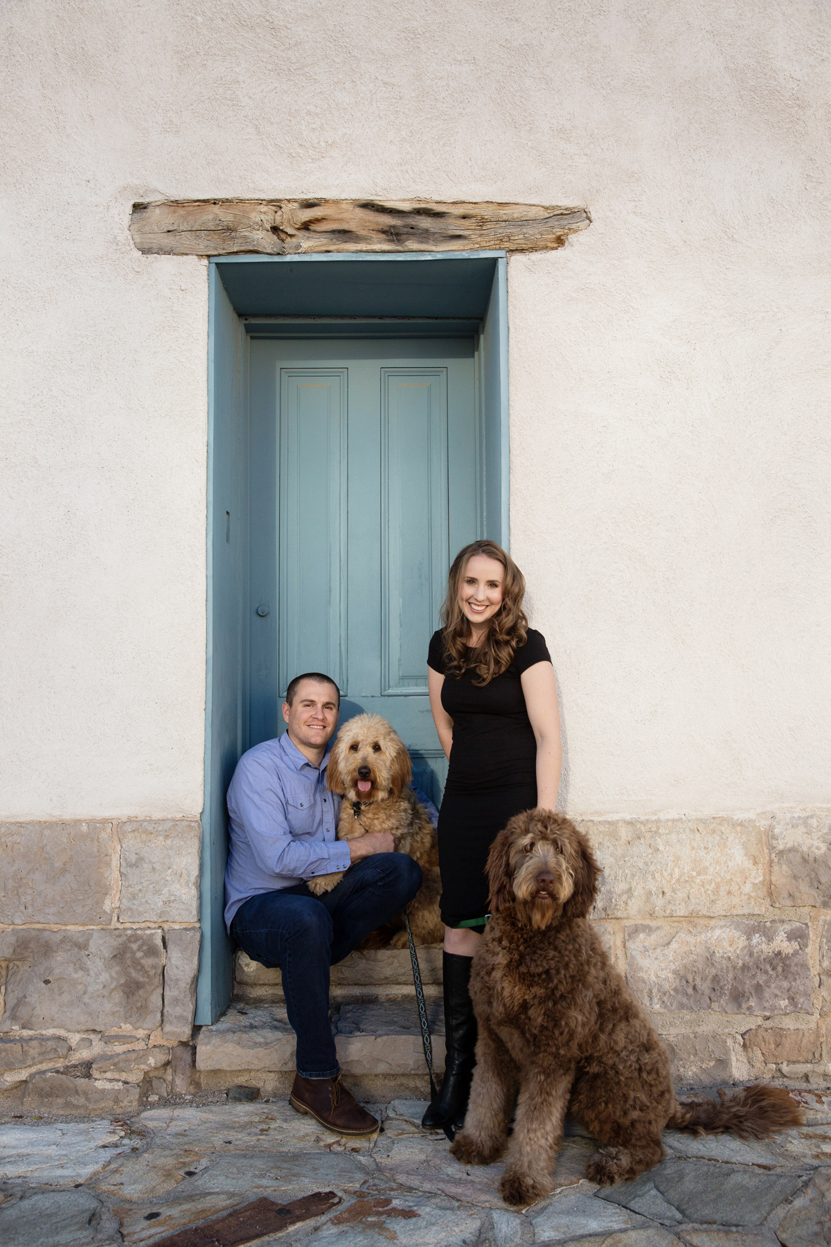 Laura and Alex Tucson Engagement photo; Lori OToole Photography; Tucson wedding, Barrio engagement