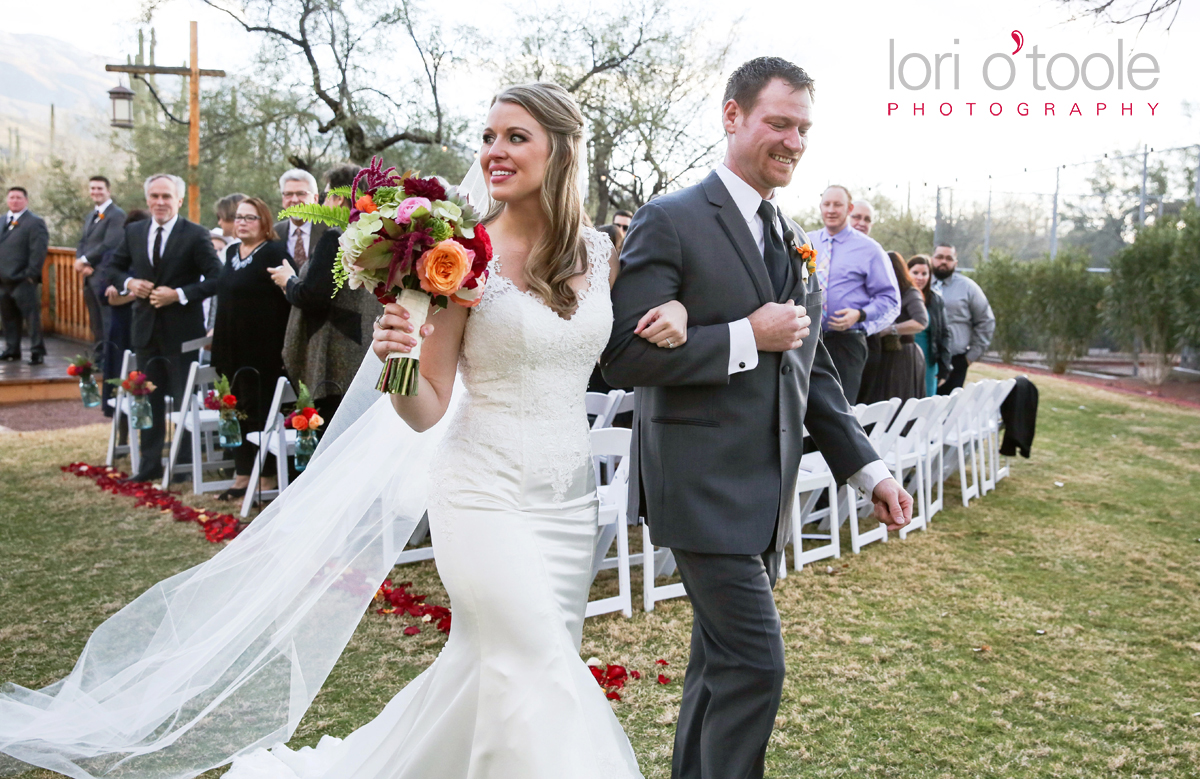 Winter wedding at Tanque Verde Guest Ranch, Lori OToole Photography, Wedding in Tucson