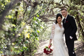 Tanque Verde Guest Ranch wedding, Red and black wedding, Lori OToole Photography