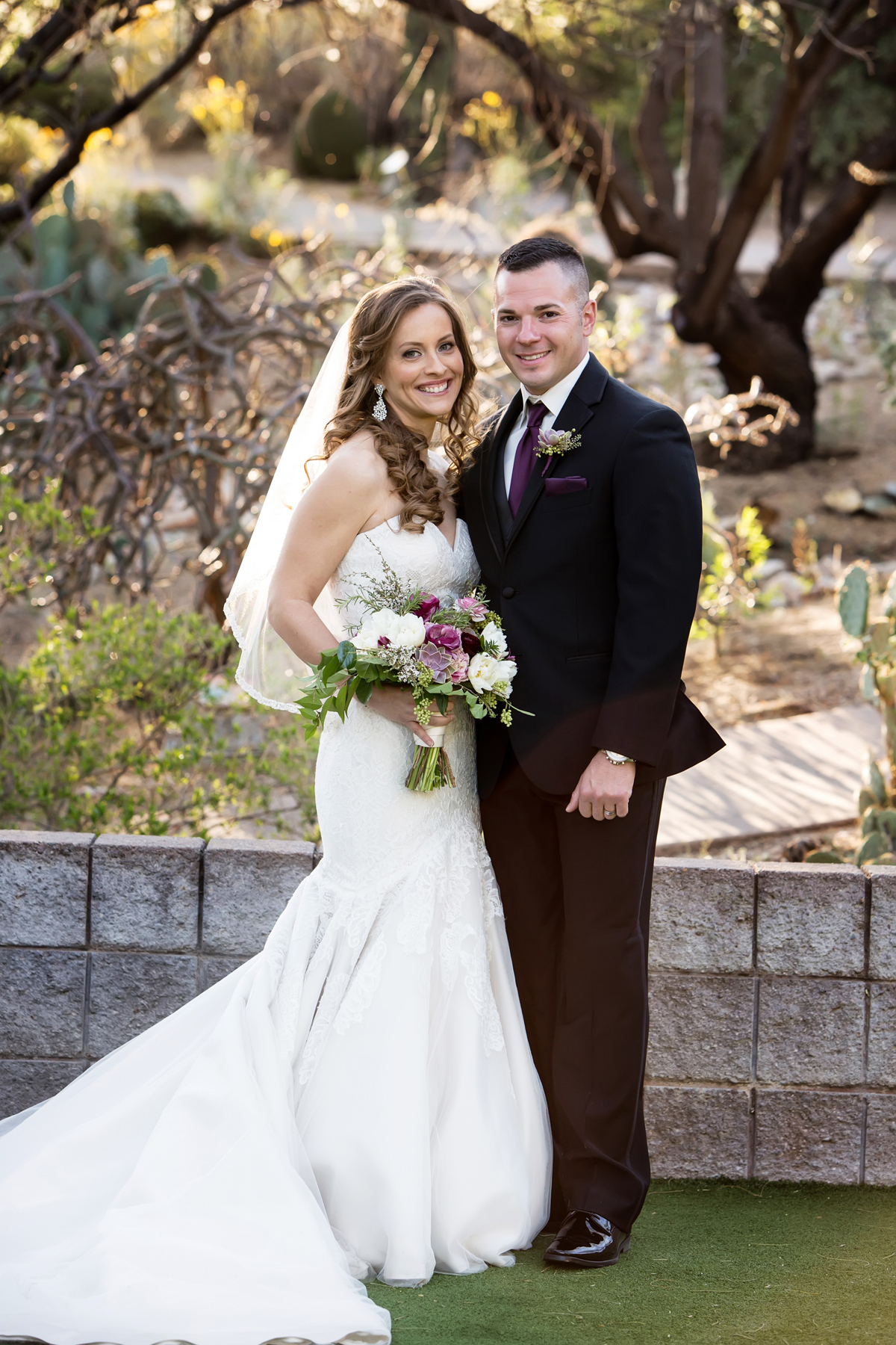 Loews Ventana Canyon wedding, purple wedding in Tucson, Lori OToole Photography