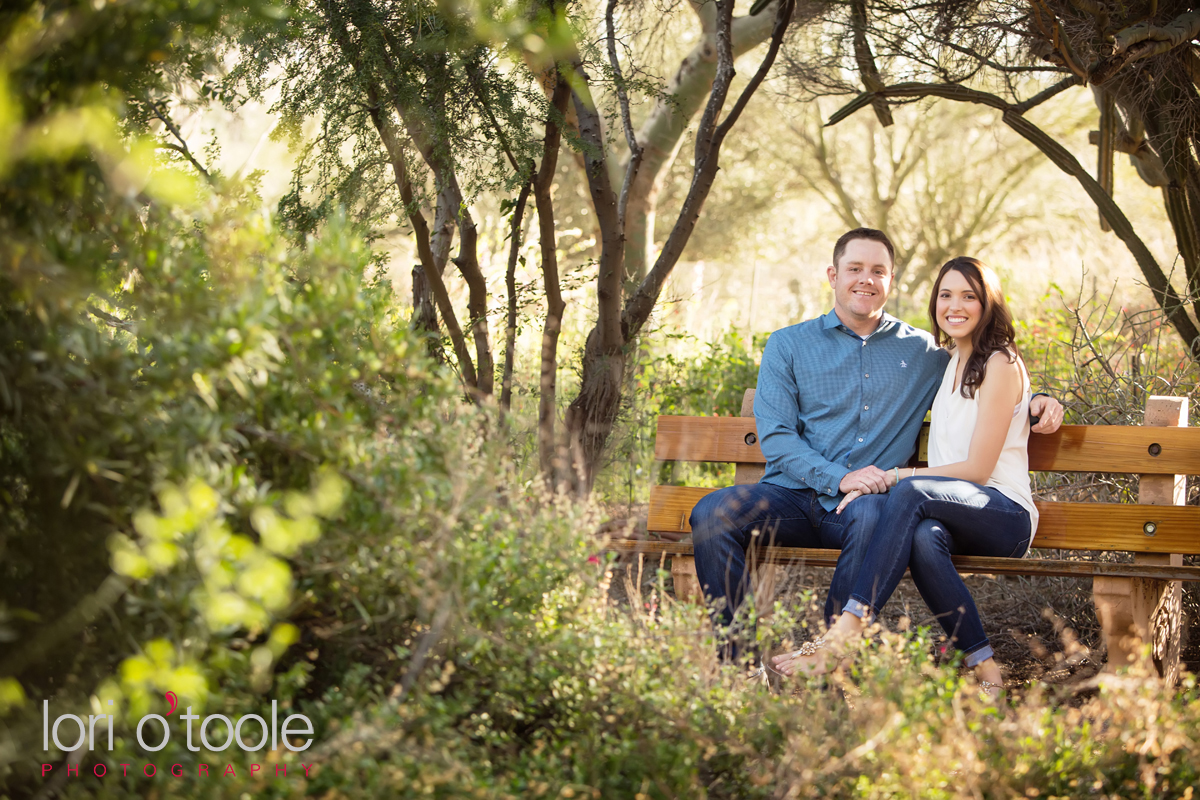 Tohono Chul engagement, Tucson engagement photo, Lori OToole Photography, Jen and Travis