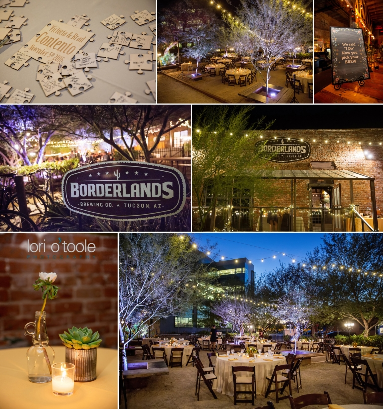 Tucson Botanical Gardens Wedding; Borderlands Brew Pub Wedding; Lori OToole  Photography